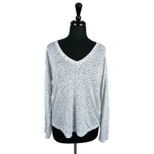 Rails Spotted Sami Linen Top. Size: S